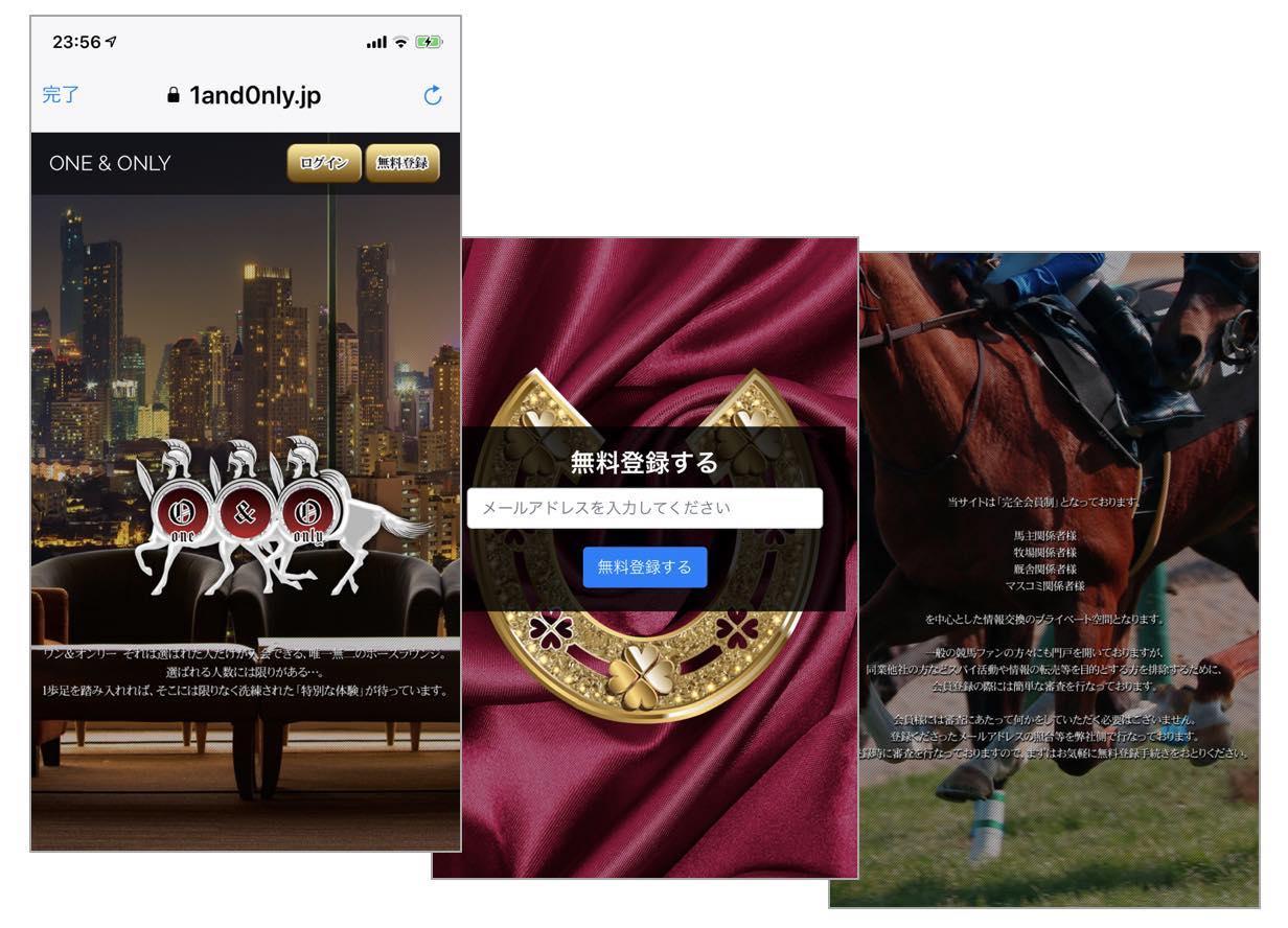 ワンアンドオンリー(ONE&ONLY)という胡散臭い競馬予想サイトの口コミ情報や評価を検証する
