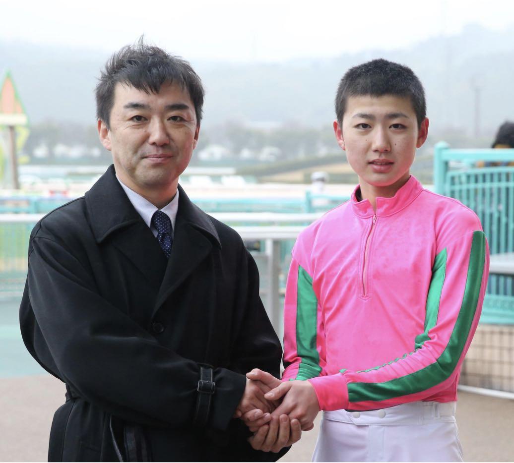 藤田菜七子騎手の好敵手、斎藤誠調教師の長男、斎藤新騎手