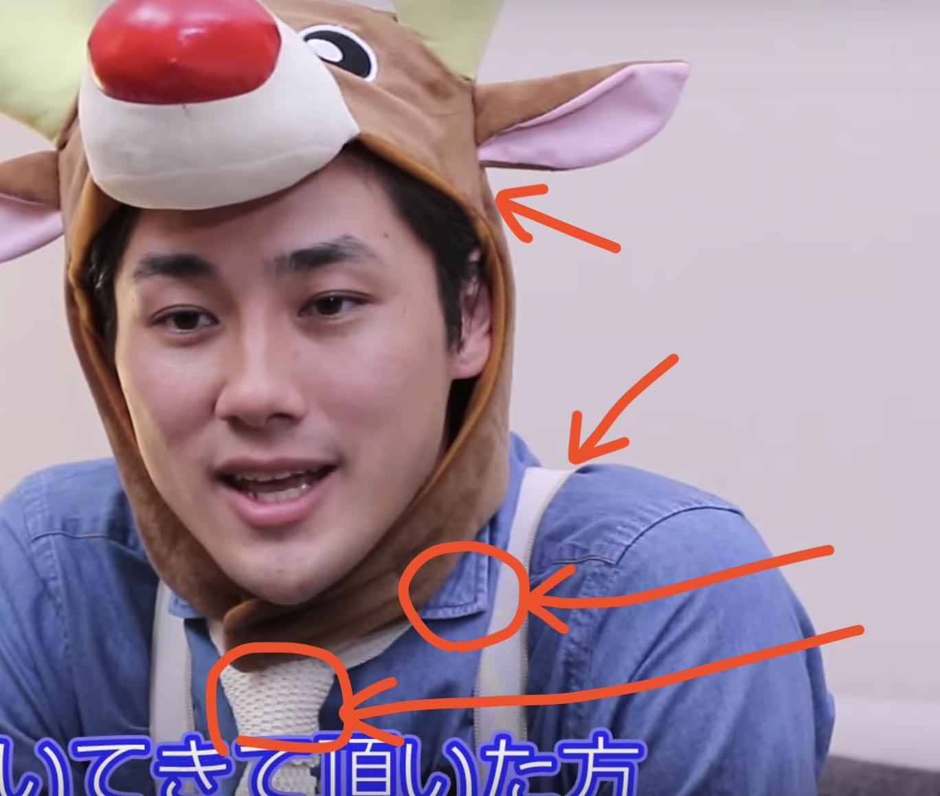 真田光世が安物の服をきてるようにしか見えない