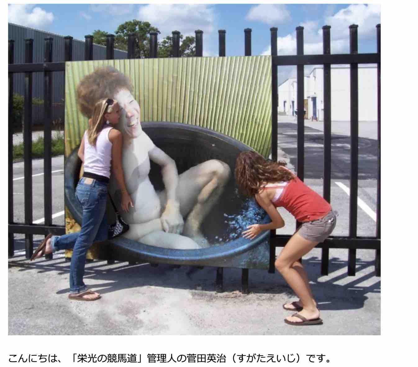 菅田英治による栄光の競馬道という競馬予想ブログのプロフ画像