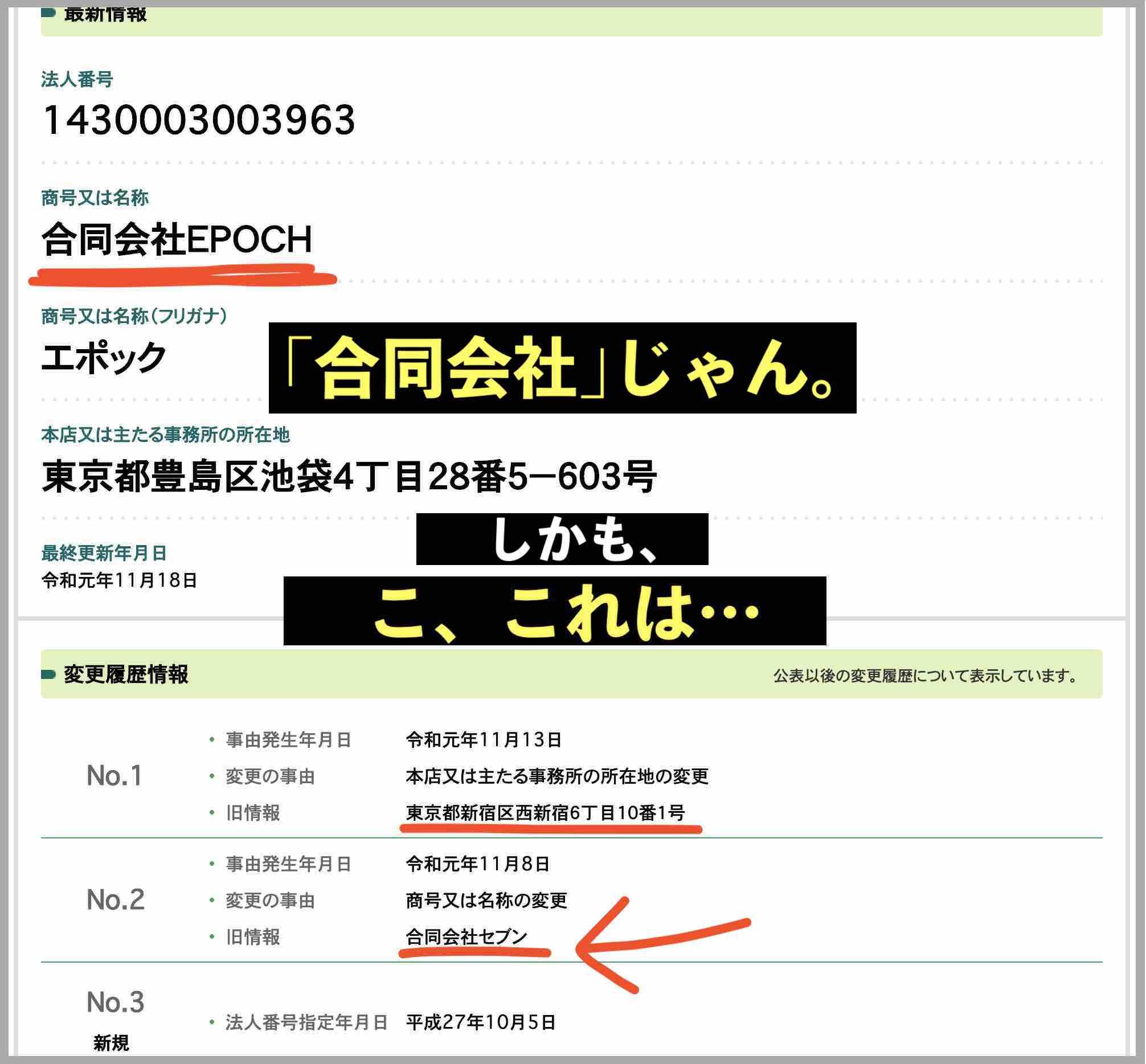 令和競馬(令和ケイバ)という競馬予想サイトの合同会社EPOCHの運営社情報