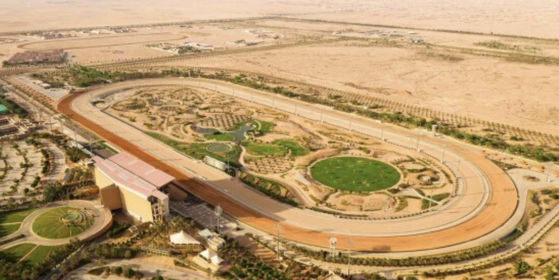 サウジアラビアの首都リヤドで開催の競馬サウジCのキングアブドゥルアジーズ競馬場の周辺画像