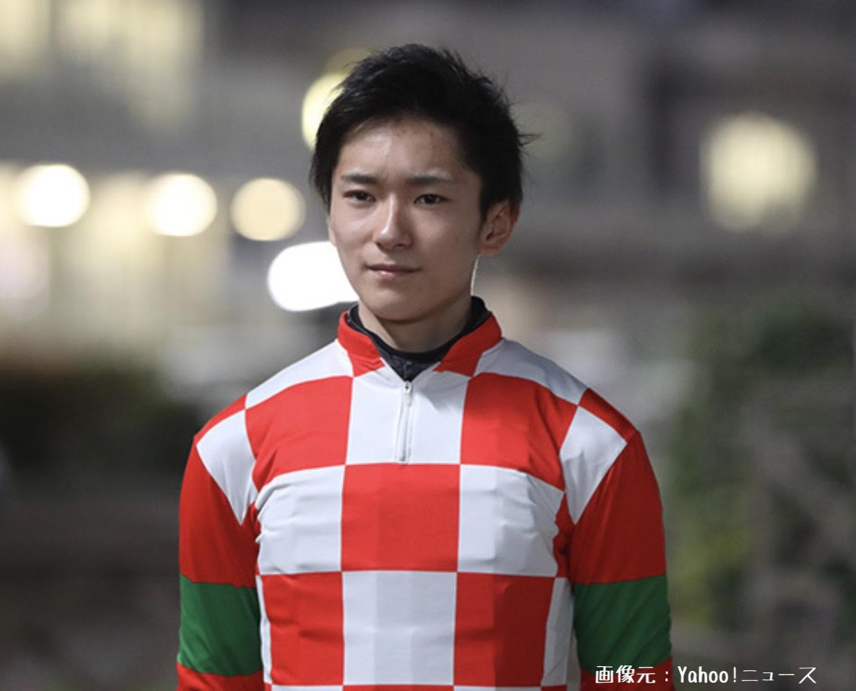 競馬界期待の若手騎手、坂井瑠星騎手の写真画像