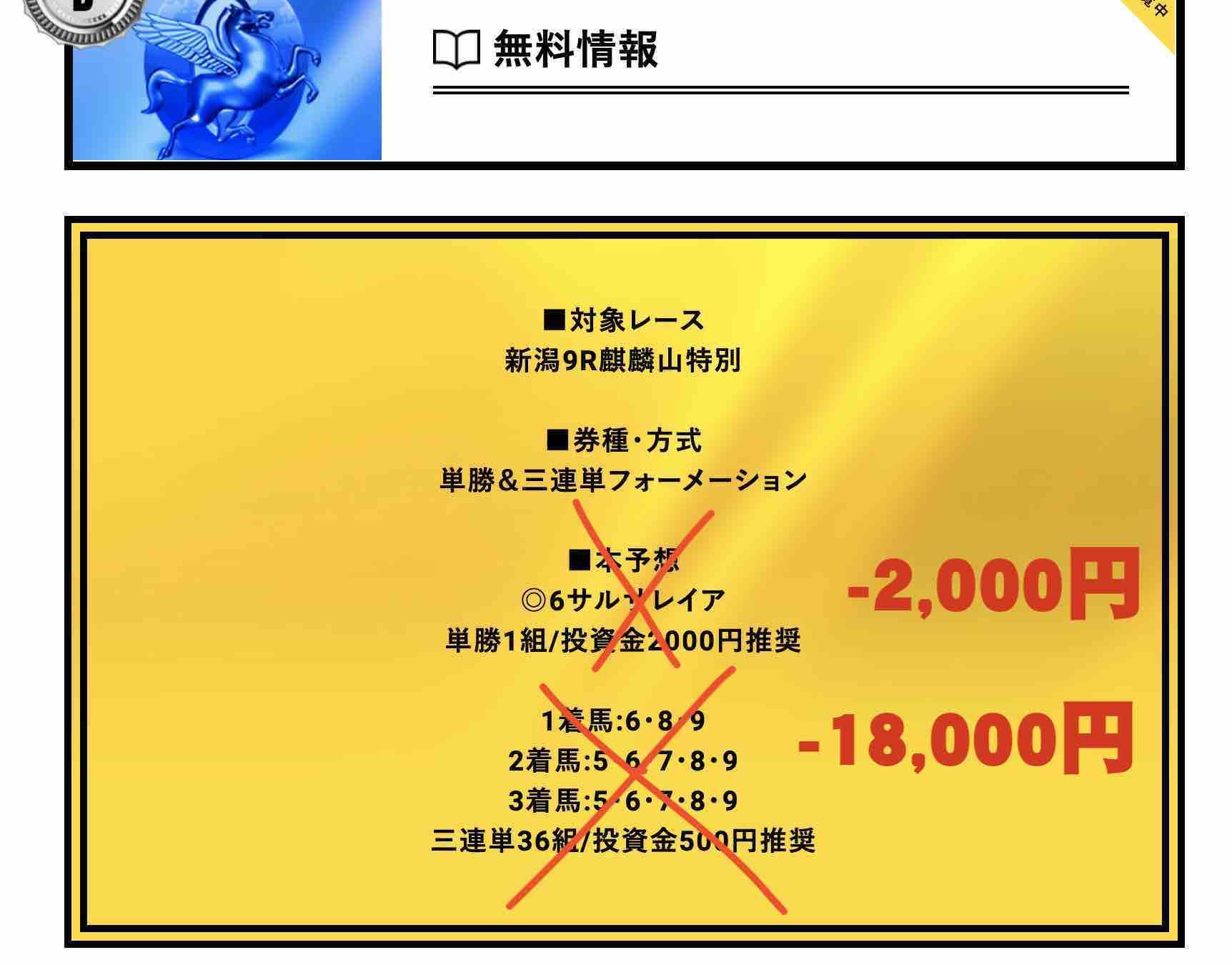 ゴールドラッシュ(GOLDRUSH)という競馬予想サイトの無料情報