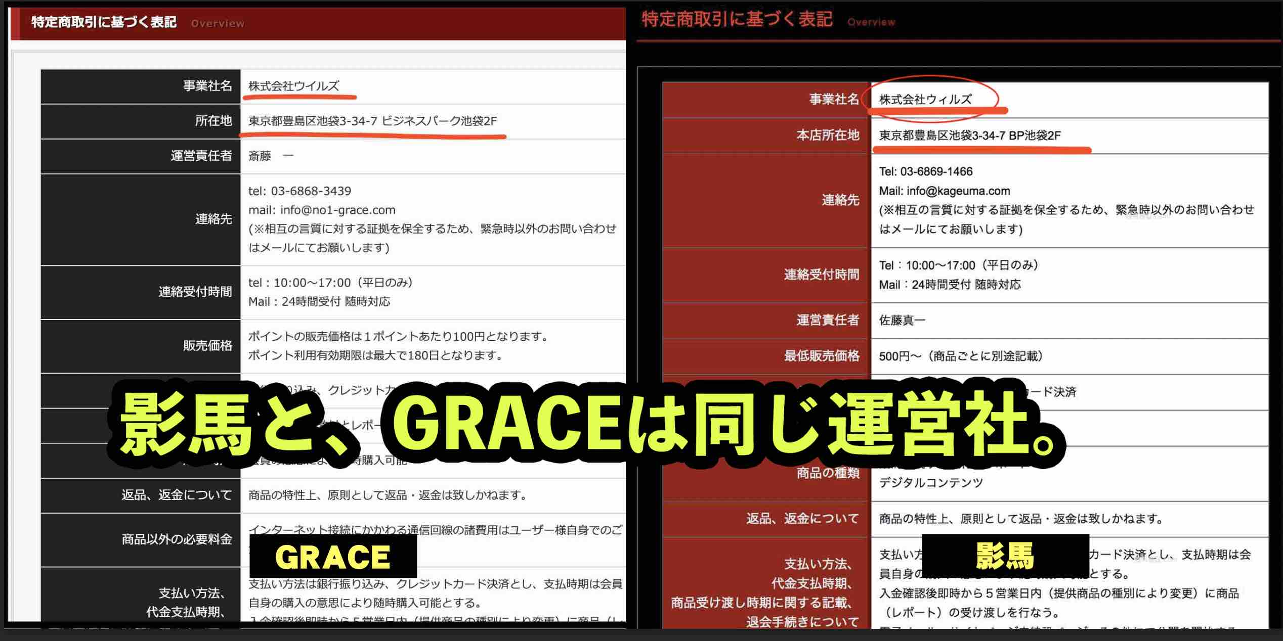 GRACE(グレイス)という競馬予想サイトは影馬と同じ運営